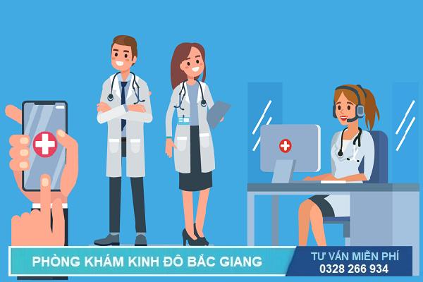 Phòng khám tư vấn phá thai qua điện thoại miễn phí ở Bắc Giang