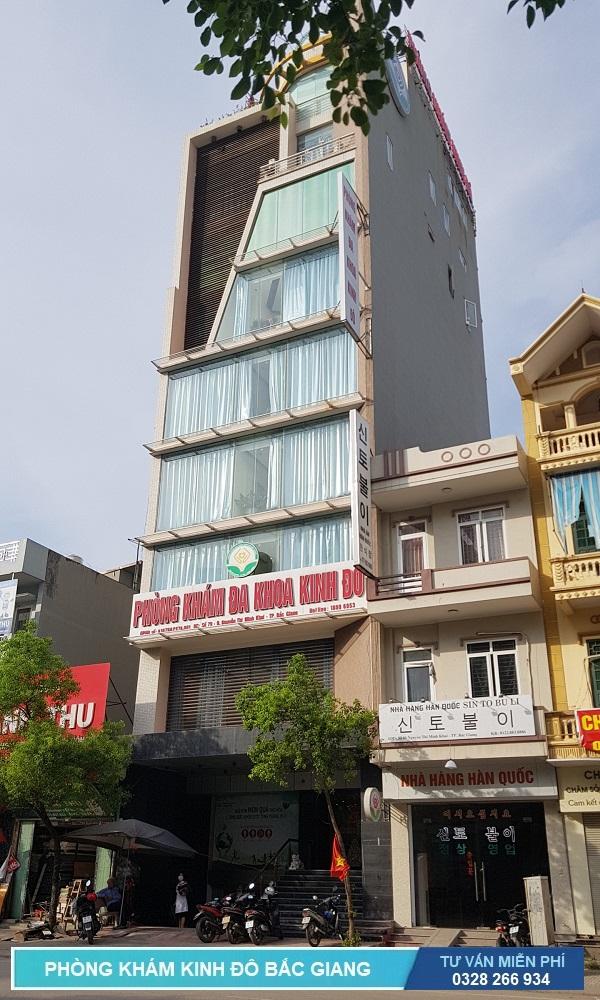 Phòng khám Kinh Đô với tòa nhà 10 tầng