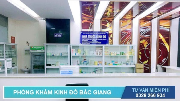 Phòng khám Kinh Đô có nhà thuốc riêng biệt