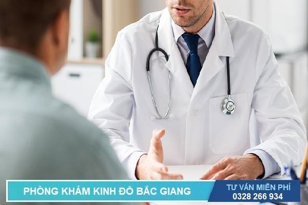 Bác sĩ nam khoa tư vấn khám sức khỏe nam giới