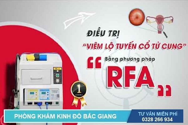RFA cổ tử cung: Phương pháp chữa viêm lộ tuyến với kỹ thuật mới nhất hiện nay