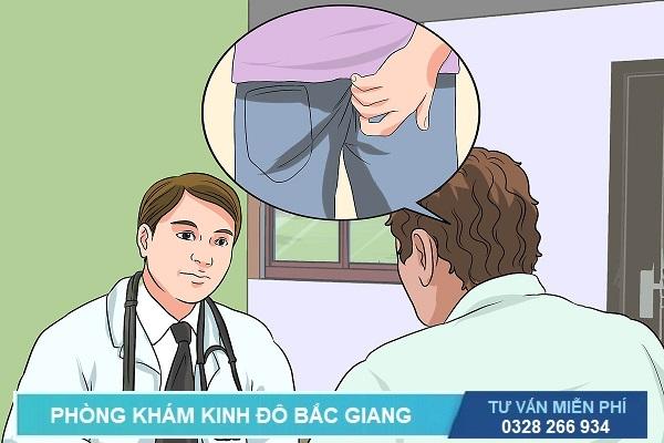 Bác sĩ tư vấn bệnh trĩ