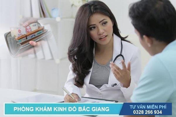 Bác sĩ tư vấn bảng giá chi phí phẫu thuật cắt trĩ hết bao nhiêu