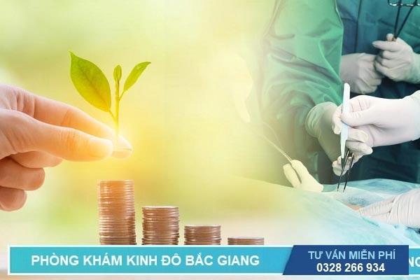 Bảng giá chi phí phẫu thuật mổ cắt búi trĩ hết bao nhiêu tiền tại Bắc Giang