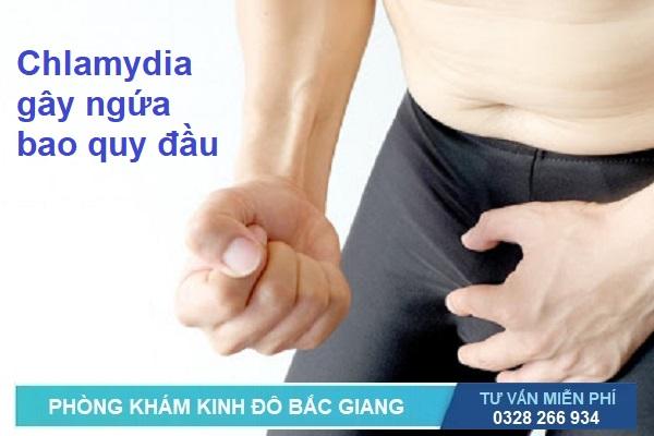Ngứa bao quy đầu do bệnh Chlamydia