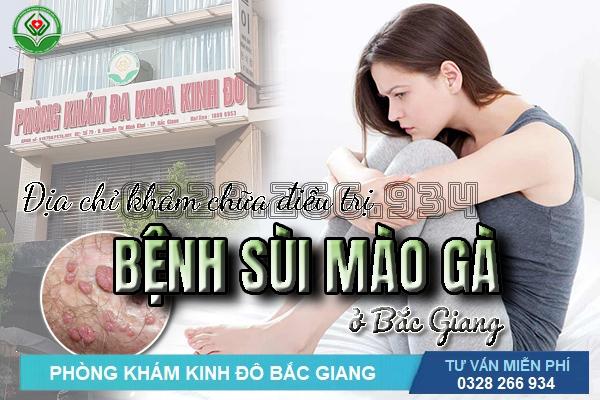 Địa chỉ khám chữa điều trị sùi mào gà ở đâu tốt nhất Bắc Giang?