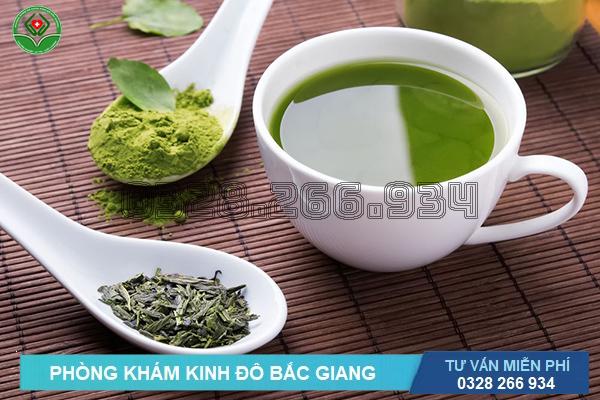 Cách hỗ trợ chữa điều trị viêm cổ tử cung bằng trà xanh