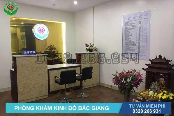 Phòng khám Kinh Đô - địa chỉ đốt viêm lộ tuyến cổ tử cung ở đâu tốt nhất Bắc Giang