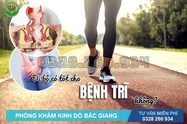 Đi bộ có tốt cho bệnh trĩ không? Lợi ích của đi bộ với bệnh trĩ?