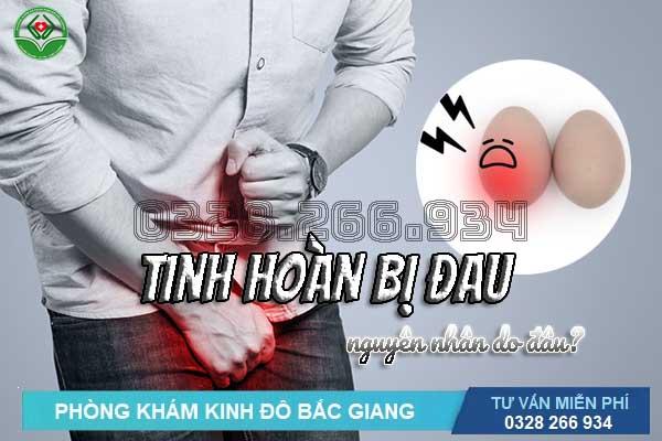 Tinh hoàn bị đau nhức: 10 nguyên nhân khiến nam giới bị đau tinh hoàn
